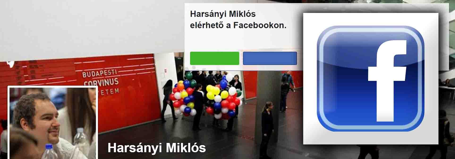 harsányi miklós facebook